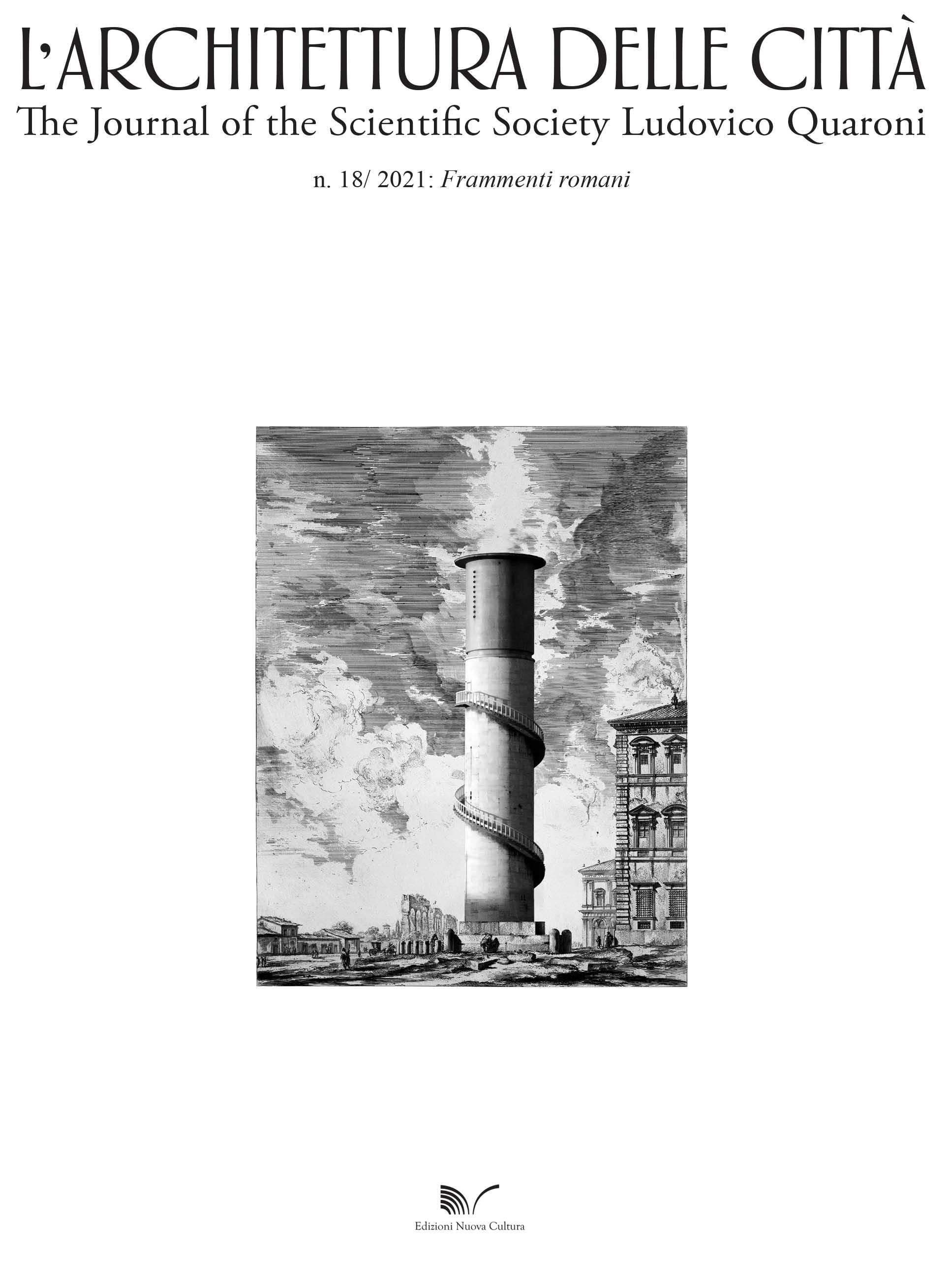 View Vol. 14 No. 18 (2021): Frammenti Romani